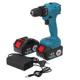 98VF 2000r / min Elétrica Broca LED Chave de fenda sem fio ferramenta elétrica com 1 unidade ou 2 unidades Bateria