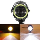 12V-80V Reflektory motocyklowe LED Reflektor świateł drogowych DRL Aluminium