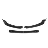 Car Carbon Fiber Look Front Bumper Lip Body Kit Spoiler For Ford Focus 2019