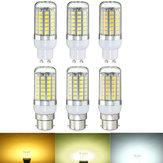 B22 gu10 6w 69 SMD 5050 LED branco puro branco morno branco natural cobertura de milho lâmpada AC220V