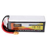 PODER 22.2V 4500mAh 65C 6S Lipo de ZOP Bateria com o plugue XT60