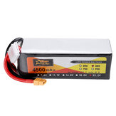 ZOP POWER 22.2V 4500mAh 65C 6S يبو البطارية مع XT60 المكونات