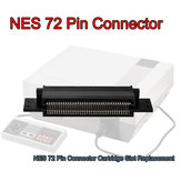 72 pin-vervangende connector cartridge slot voor 8 bit Nintendo NES Entertainment System
