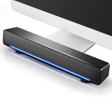 SADA V-196 Computerlautsprecher 3D-Stereo-Sound Deaktop USB-3,5-mm-Soundbar mit Kabel