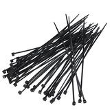 50pcs White Black 3x150mm Cable Ties Model Manufacturing Tools