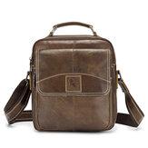 Vintage Multifunction Leather Crossbody Shoulder Bag