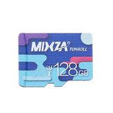 Mixza Colorful Edition U1 128GB TF Micro Memory Card for Digital Camera Smartphone MP3 TV Box