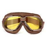 Motorcycle Bike Racing Scooter Pilot Helmet Goggles Glasses Windproof