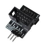 Pin 27 Adattatore scheda PCB nero Piatto per sensore filamento BLTouch compatibile con stampante 3D Creality CR-10/Ender 3/Ender-5