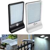 36LED Solar Power PIR Motion Sensor Wall Light Outdoor Waterproof Garden Lamp