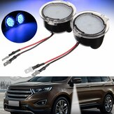 Paar Weiß LED Side View Spiegel Puddle Light für Ford Edge Mondeo Fokus C-Max Kuga S-Max