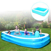 Summer Inflatable Swimming Pool Household Baby Rectangular Marine Ball Wear Resistant Kids Adults PVC Bathtub