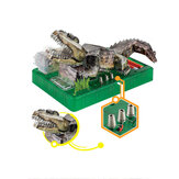 3D DIY Origami Electric Crocodile Stereo Puzzle Model Toys for Kids