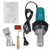 2000W 220V Vástago recto Aire caliente Calentador Antorcha Soldadura de plástico herramienta Soldador herramienta