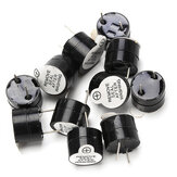 10pcs 12V Active Buzzer Electromagnetic SOT Plastic Sealed Tube Long Sound 12mmx9.5mm