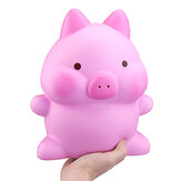Giant Piggy Squishy 26cm Swine Kawaii Rosa Pig