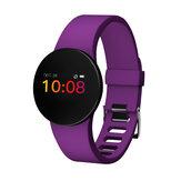 """XANESH8S0.66""""OLEDRenkliEkran IP68 Su Geçirmez Smart Watch Kalp Hız Kan Basıncı Monitör Fitnes Spor Akıllı Bileklik"""