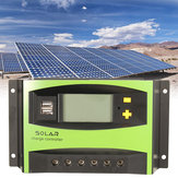 40A 12V / 24V Auto solare Regolatore di carica energetica LCD Display Home Improvement