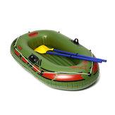ポンプロープが付いている150x90cmの独身者の膨脹可能なボートのカヤックのゴム製ボート