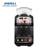 ANDELI TIG-250GP TIG Welder 220V DC TIG Welding Machine Pulse tig Spot Welding MMA Welding Machine TIG Inverter Arc Tig