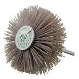 6mm Shank 80 Grit Ściernica ścierna Szczotka Woodworking Polerowanie Wheel