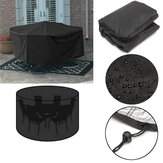 110x230cm Outdoor Garden Patio Furniture Stack Chair Cover Dustproof Shelter