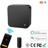 Tuya Smart WIFI IR Дистанционное Управление Универсальный инфракрасный беспроводной Дистанционное Управлениеler для TV DVD AUD AC Работа с Alexa Google Home че