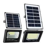 4000MAH Solar Light Flood Light with Remote Control Waterproof Solar Light for Outdoor Garden Patio