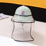 キッズ/リトルキッズ(1-4ys)子供の果物の漁師の帽子サンハット取り外し可能なフェイススクリーン