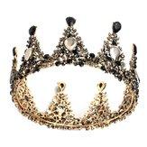 Свадебная корона Свадебное Полный горный хрусталь Круглая головка тиары