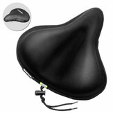 27x26cm Bike Saddle Memory Foam Comfort Breathable Reflective Bicycle Seat Cover for MTB Exercise Bike E-Bike with Waterproof Cover