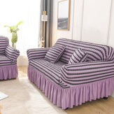 1/2/3/4 Seaters Elastic Sofa Cover Spandex Chair Seat Protector Stretch Couch Case Slipcover Home Office Furniture Decorations