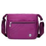 Nylon Waterproof Light Weight Crossbody Bag Leisure Travel Shoulder Bag for Women