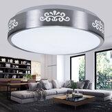 AC110-240V 12 W LED Embutida Luz de Teto Moderna Rodada Lâmpada de Montagem para Quarto Estudo Sala