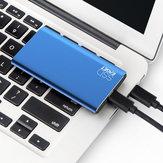 Eaget M10 Type-c 3.1 Gen2 Mobile SSD Solid State Drive TLC Support NVME Protocol High Speed External SSD Hard Drive