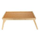 Fából készült laptop asztali állvány hordozható összecsukható íróasztal notebook asztali állvány lapos tálca ágy gyermek diákotthonhoz