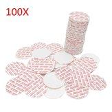 100Pcs 20 to 38mm Press Seal Cap Liner Foam Safety Tamper Seals for Jar Lid Bottle