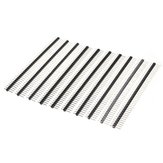 30 Pcs 40 Pin 2.54mm Single Row Male Pin Header Strip For Prototype Shield DIY
