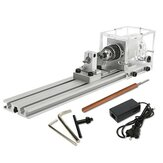 Raitool ™ 80W DC 24V Mini Lathe Beads Machine Woodworking DIY Torno Conjunto Padrão