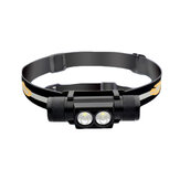 Sofirn D25S 2x SST40 1200LM 5Modes USB Rechargeable LED Headlamp Waterproof Headlight LED 18650 Searching Flashlight Work Light