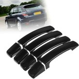 8X ABS Gloss Black Door Handle Cover Trim para Range Rover Sport Discovery 3 Freelander 2 2005-2009