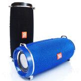 TG192 bluetooth alto-falante estéreo baixo boombox sem fio rádio FM cartão TF 2400mAh luminoso à prova d'água portátil soundbar externo com microfone