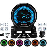 2'' 52mm Car Turbo Boost Pressure Gauge Meter Digital LED Display w/Sensor 2 BAR
