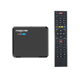 MAGICSEE C500 PRO S2X + ATSC Amlogic S905X3 2 + 16GB 5 GHz WiFi BT4.2 Android 9.0 4K Smart TV Caixa Receptor de TV via satélite ATSC DVB-S2X / S2
