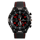 GT 54 GRAND TOURING Silikone Band Quartz Analog Sport Watch