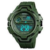 SKMEI 1383 Calendar Stopwatch Luminous Display Digital Watch