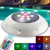 9W RGB remoto Control LED Luce per piscine Luce subacquea impermeabile per luce diurna