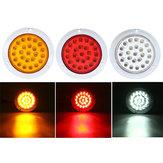 24 LEDs 10-30 V Indicador À Prova D 'Água Parar Luz Traseira Da Cauda Para Motocicleta Carro ATV barcos