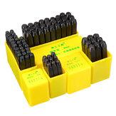 HoheQualitätDurableZink-legierung3mm6mm Briefstelle Setzt Punsch Leder Stempel Leathercraft Zubehör Werkzeug