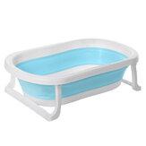 Banheira de bebê Banheira de viagem dobrável grande banheira de banho Deluxe para crianças recém-nascidas